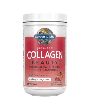 Collagen Beauty - brusinka a granátové jablko - Kolagen 270g.