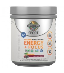 Sport Organic Plant-Based Energy + Focus