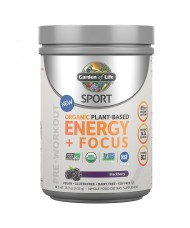 Sport Organic Plant-Based Energy + Focus 432g