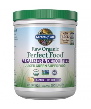 RAW Organic Perfect Food Alkalizer & Detoxifier 282g.