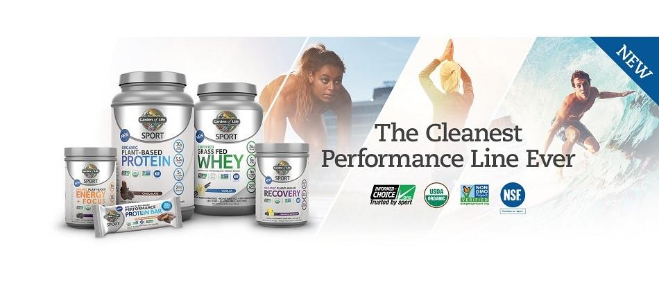 Sport protein Linie